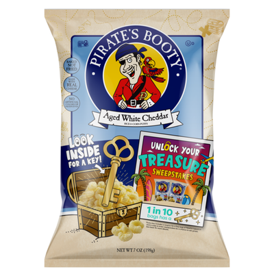 Pirate Brands Aged White Cheddar (Unlock Your Treasure)
