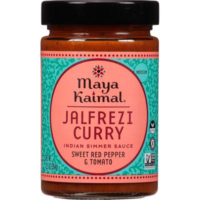 Maya Kaimal Indian Simmer Sauce, Jalfrezi Curry, Medium