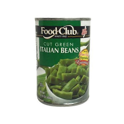 Food Club Cut Italian Green Beans Ez
