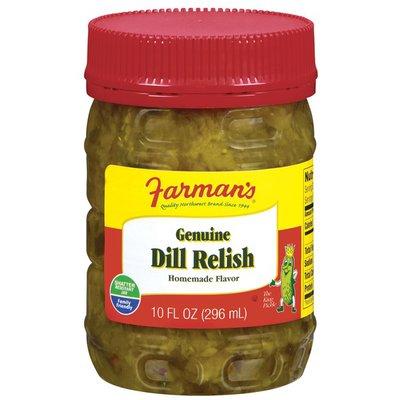 Farman's Genuine Dill Pickle Relish