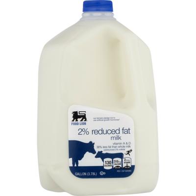 Food Lion Milk, Reduced Fat