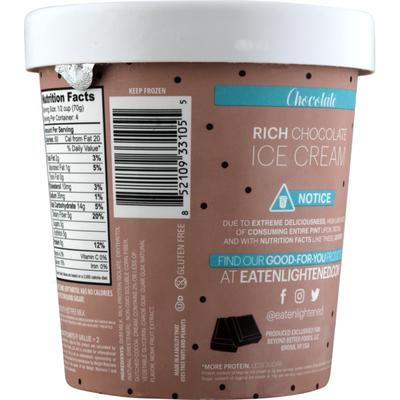 Enlightened Low Fat Ice Cream Chocolate