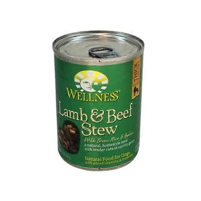 Wellness Lamb & Beef Stew With Brown Rice & Apples Natural Food For Dogs