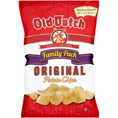 Old Dutch Family Pack Original Potato Chips