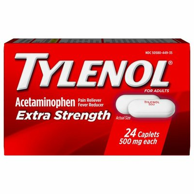 Tylenol Extra Strength Caplets, Fever Reducer And Pain Reliever, 500 Mg