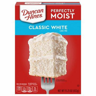 Duncan Hines Cake Mix, Classic White