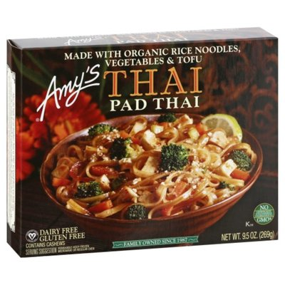 Amy's Amy's Frozen Entrées, Pad Thai, GF and Dairy Free, 9.5 oz.