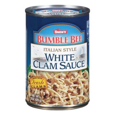 Snow's Bumble Bee Italian Style White Clam Sauce
