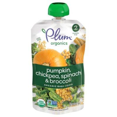 Plum Organics Hearty Veggie Pumpkin, Spinach, Chickpea & Broccoli