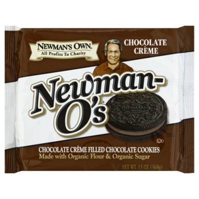 Newman's Own Cookies, Chocolate Creme, Newman-O's
