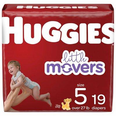 Huggies Baby Diapers, Size 5