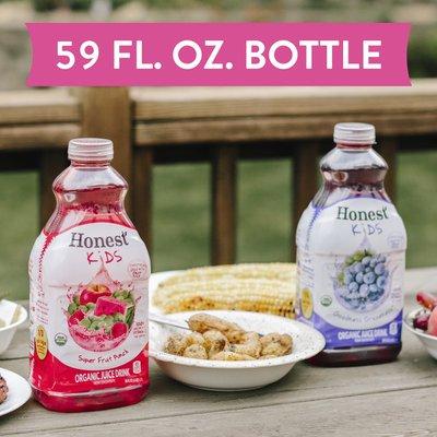 Honest Tea Berry Berry Good Lemonade Organic Juice Drink