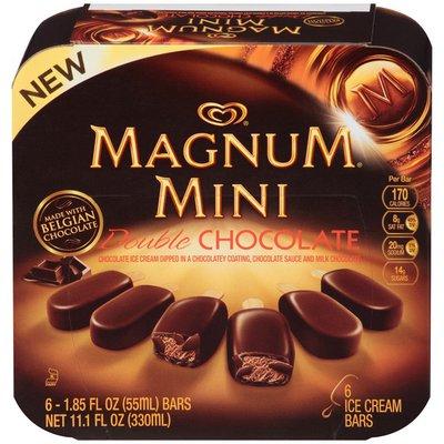 Magnum Ice Cream Bars Mini Double Chocolate