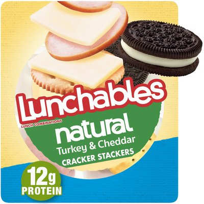 Lunchables Turkey & Cheddar Cheese Snack Kit with Crackers & Chocolate Sandwich Cookies