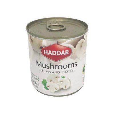 Haddar Canned Mushroom Stems & Pieces