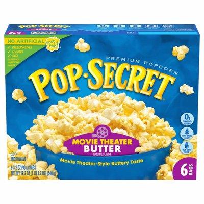 Pop Secret Movie Theater Butter Popcorn