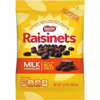 Raisinets Sun-Ripened, Plump Juicy California Raisins Tucked in Rich, Creamy Milk Chocolate Milk Chocolate Covered Raisins