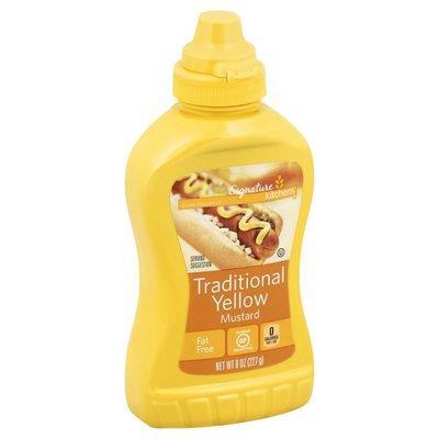Signature Kitchens Yellow Fat Free Traditional Mustard