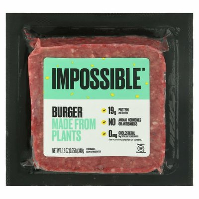 Impossible Foods Impossible Burger Made From Plants