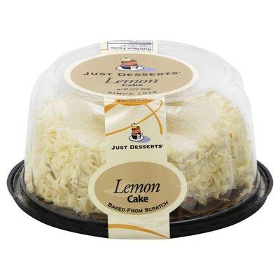 "Just Desserts Lemon Cake, 6"""