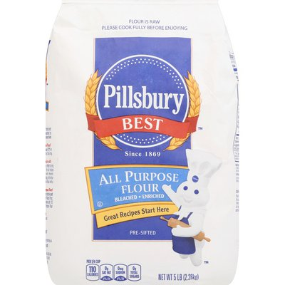 Pillsbury Flour, All Purpose, Bleached, Enriched