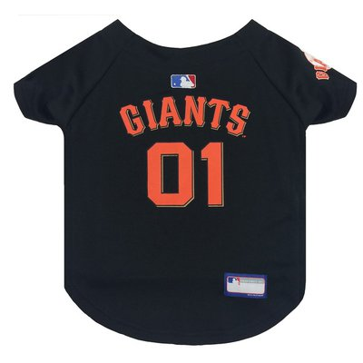 Pets First Extra Small San Francisco Giants Dog Jersey