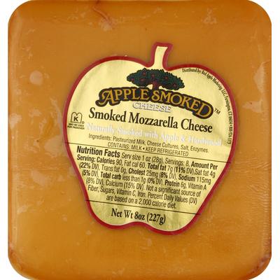 Apple Smoked Cheese Cheese, Apple Smoked, Mozzarella