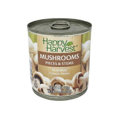 Happy Harvest Canned Mushrooms