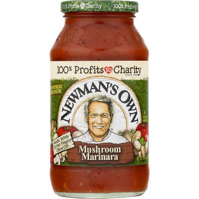 Newman's Own Pasta Sauce Mushroom Marinara