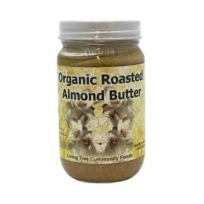 Living Tree Community Foods Organic Roasted Almond Butter