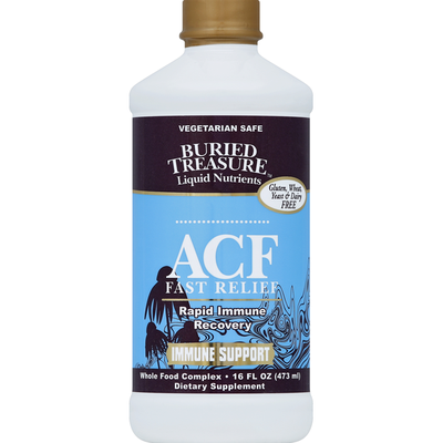 Buried Treasure ACF Fast Relief Immune Support