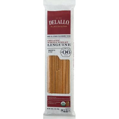 DeLallo Organic Whole Wheat Linguine #6