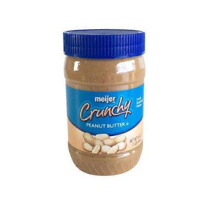 Meijer Crunchy Peanut Butter