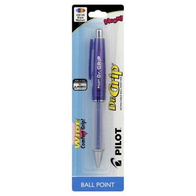 Pilot Pen, Ball Point, Retractable, Medium, Black