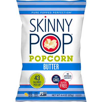 SkinnyPop Popcorn Real Butter