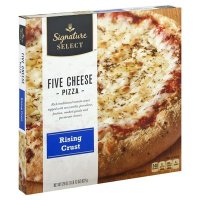 Signature Select Pizza, Rising Crust, Five Cheese