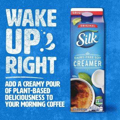Silk Original Dairy Free Soy Creamer