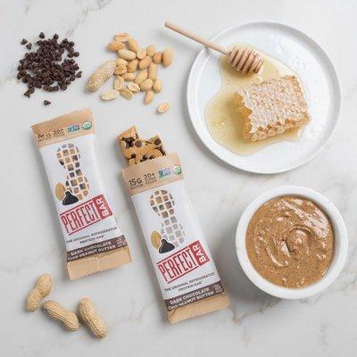 Perfect Bar Protein Bar, Dark Chocolate Chip Peanut Butter with Sea Salt