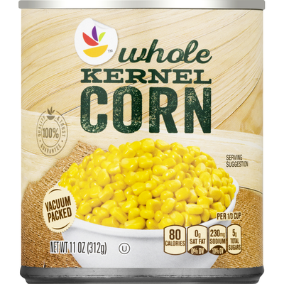 SB Corn, Whole Kernel, Vacuum Packed
