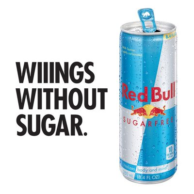 Red Bull Energy Drink, Sugar Free
