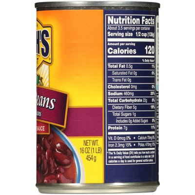 Bush's Best Kidney Beans in a Spicy Chili Sauce