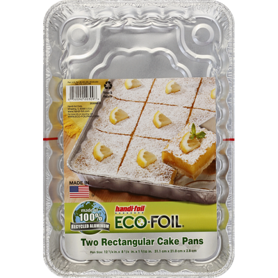Handi-Foil Cake Pans, Rectangular