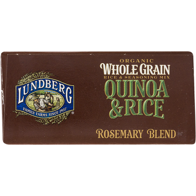 Lundberg Family Farms Organic Whole Grain Quinoa & Rice Rosemary Blend