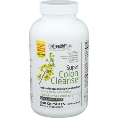 Health Plus Psyllum Supplement With Herbs Capsules