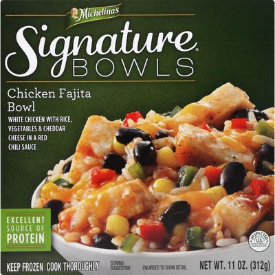 Michelina's Signature Bowls Chicken Fajita