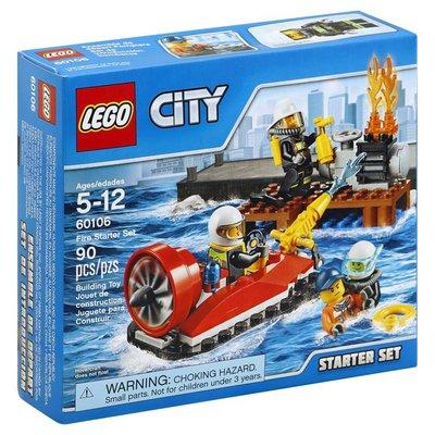 LEGO Starter Set, Fire Starter Set, 90 Pieces