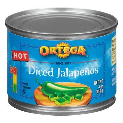 Ortega Hot Diced Jalapenos