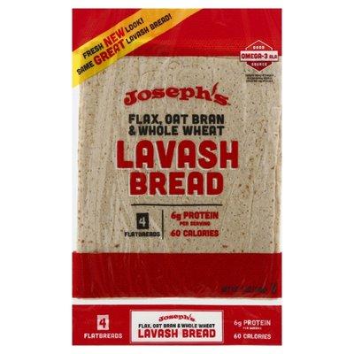 Joseph's Mediterranean Cuisine Flax Lavash Bread