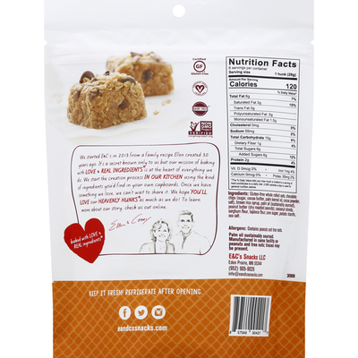 E&C's Cookies, Gluten-Free, Peanut Butter Chocolate