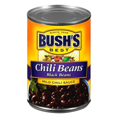Bush's Best Black Beans in a Mild Chili Sauce